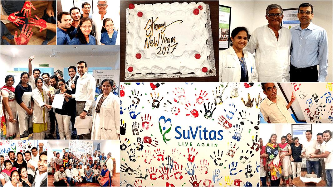 SuVitas Team New Year Celebrations